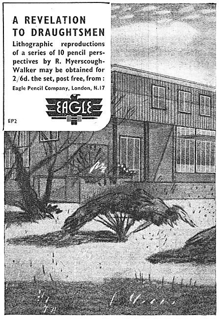Eagle Draughtsmans Pencils