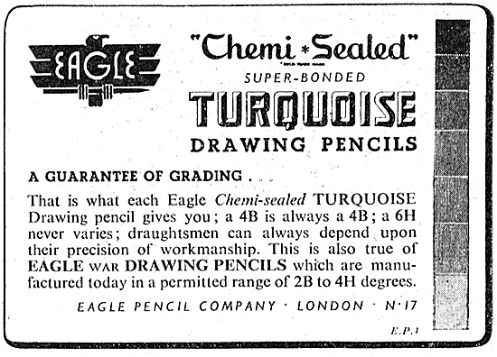 Eagle Chemi Sealed Draughtsmans Pencils