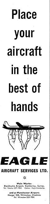 Eagle Aircraft Services. Blackbushe. 1958