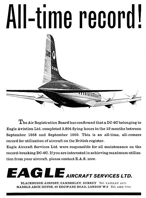 Eagle Aircraft Services Aircraft Maintenance 1959