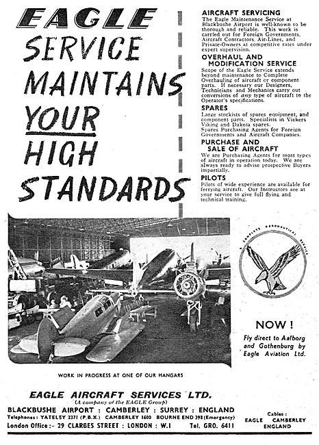 Eagle Aircraft Services Blackbushe