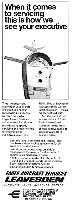 Eagle Aircraft Services Leavesden 1967