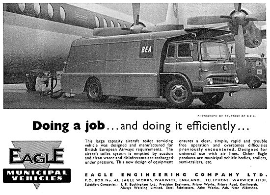 Eagle Engineering Company - Toilet Servicing Vehicle