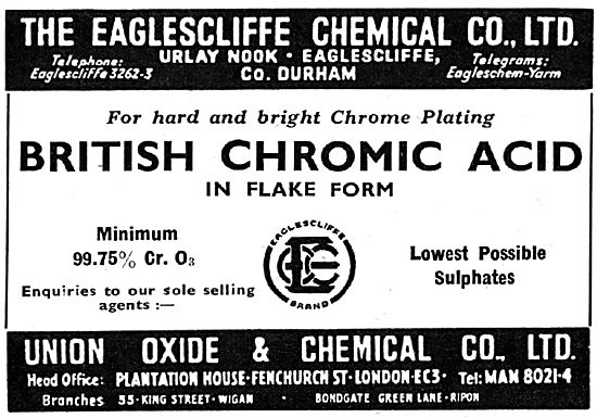 Union Oxide & Chemical Co Ltd - Durham