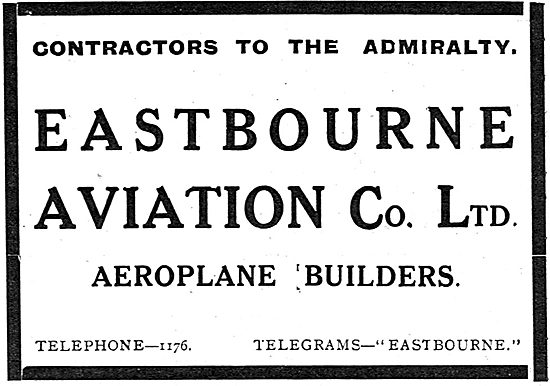 Eastbourne Aviation - Aeroplane Builders