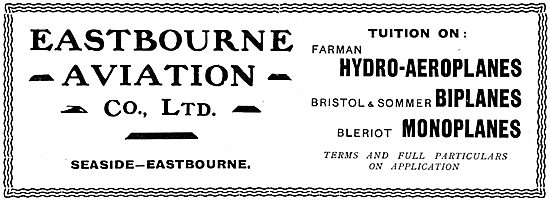 Eastbourne Aviation  - Tuition On Bristol & Sommer Biplanes