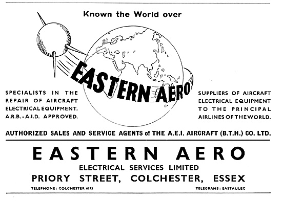 Eastern Aero Electrical Services 1959