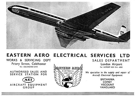 Eastern Aero Electrical Services. A.E.I.