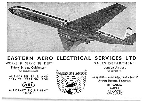 Eastern Aero Electrical Services - AEI Service