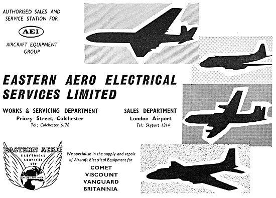 Eastern Aero Electrical Services - AEI Sales & Service