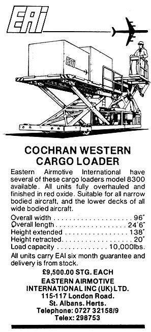 Eastern Airmotive Cochran Western Cargo Loader