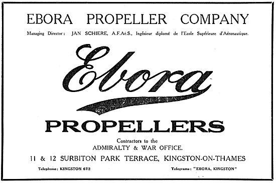 Ebora Propellers 1916
