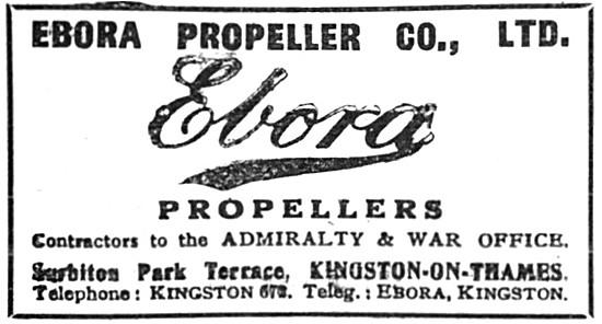 Ebora Propellers 1917