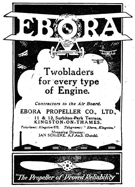 Ebora Aeroplane Propellers