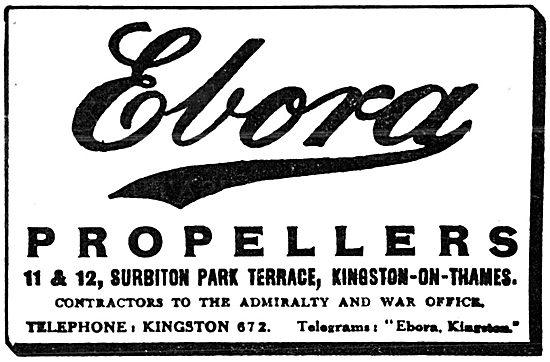 Ebora Propellers - 11 & 12 Surbiton Park Terrace.