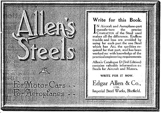Edgar Allen & Co - Steel For Aircraft