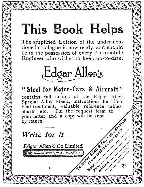 Edgar Allen & Co - Steel For Aircraft