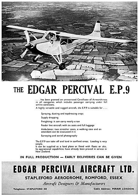 Edgar Percival EP9