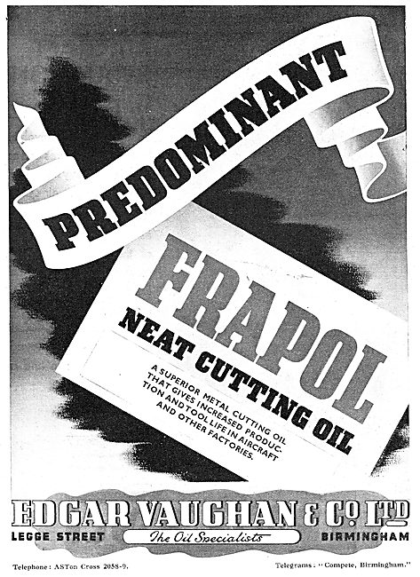 Edgar Vaughan - Cutting Oil FRAPOL