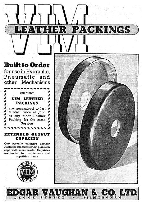 Edgar Vaughan - VIM Leather Packings