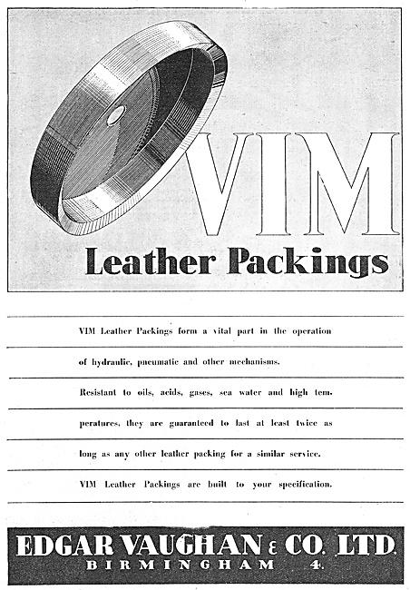 Edgar Vaughan -  Leather Packings