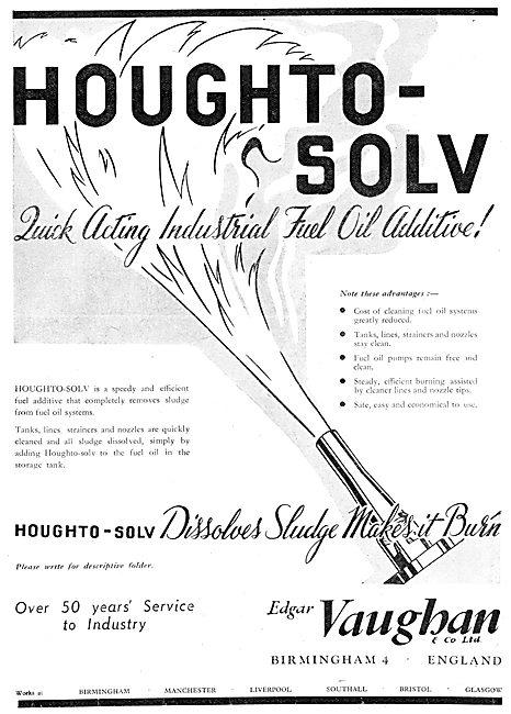 Edgar Vaughan - Oils & Compounds Hougthto-Solv Fuel Oil Additive
