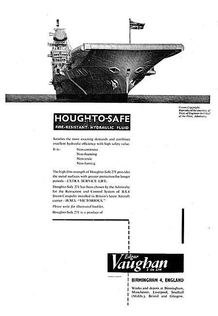 Edgar Vaughan Houghto-Safe Hydraulic Fluid