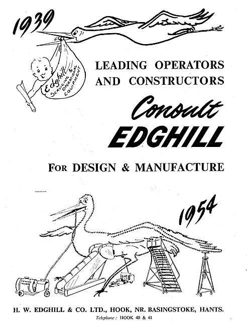 Edghill Aircraft Servicing & Operational Ground Equipment.