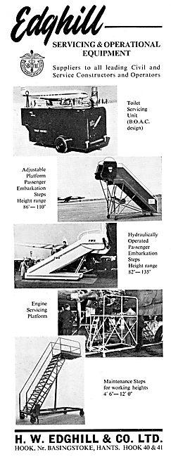 Edghill Ground Handling Equipment & Aircraft Servicing Platforms