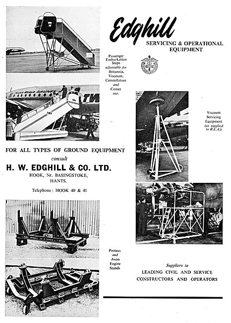 Edghill Ground Handling Equipment & Aircraft Servicing Platforms