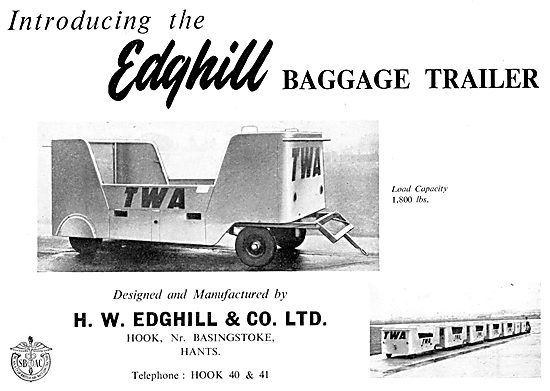 Edghill Baggage Trailer