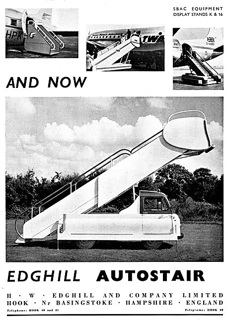 Edghill Aircraft Ground Support Equipment - Edghill Autostairs