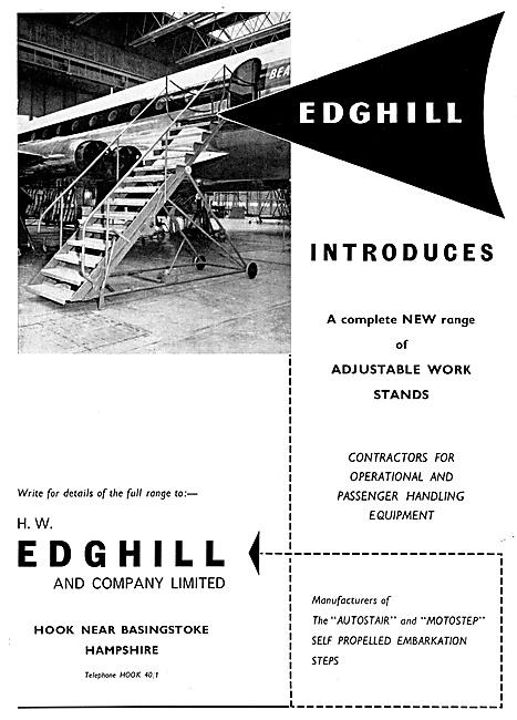 Edghill Aircraft Maintenance Platforms
