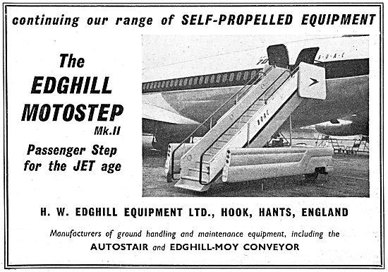 Edghill Motostep Mk II - Autostair Edghill-Moy Conveyor