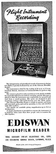 Edison Swan - Ediswan Microfilm Reader