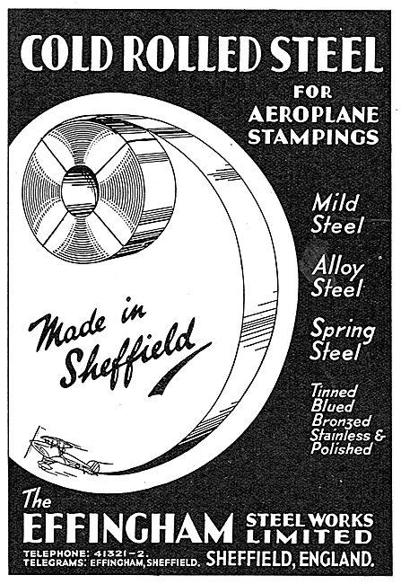 The Effingham Steel Works - Cold Rolled Steel
