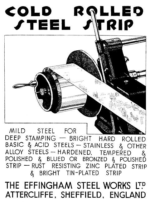 The Effingham Steel Works - Cold Rolled Steel Strip