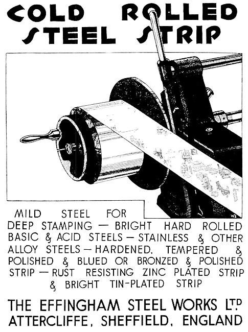 The Effingham Steel Works - Cpld Rolled Steel Strip