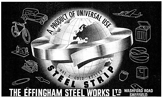 The Effingham Steel Works - Rolled Steel Strip
