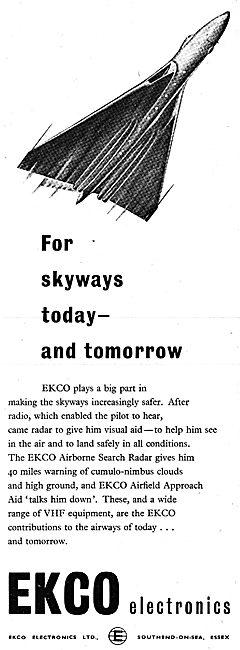 Ekco Airfield Radar & VHF Comms Equipment