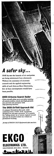 Ekco Airfield Radars & VHF Comms Equipment