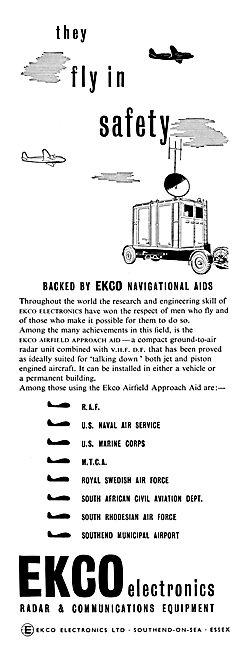 Ekco VHF VDF Airfield Approach Aids