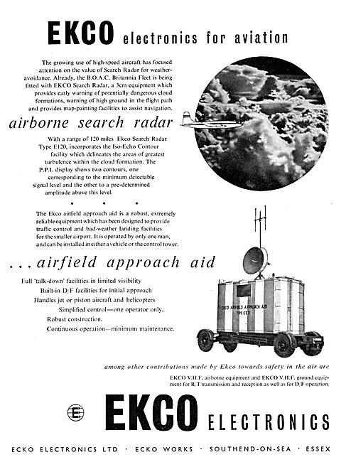 Ekco E120 Airborne Search Radar - Ekco Airfiled D/F