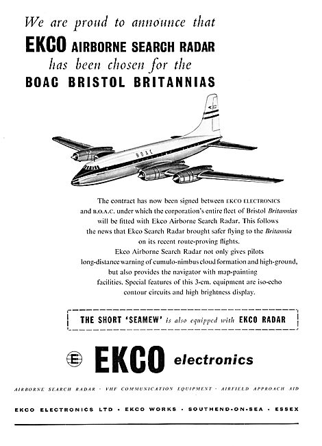 Ekco Weather Radar