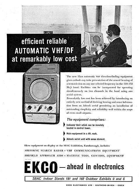 Ekco Automatic ATC VHF/DF