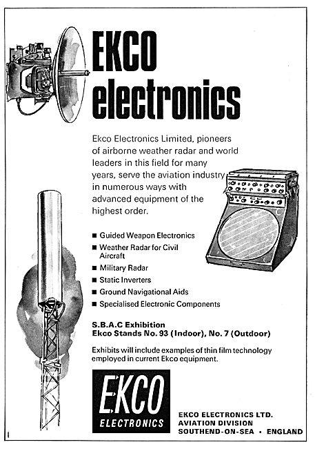 Ekco Electronics - Radar