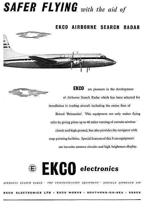 Ekco Airborne Search Radar 1956