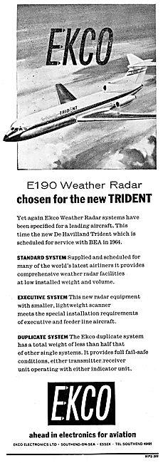 Ekco E190 Weather Radar
