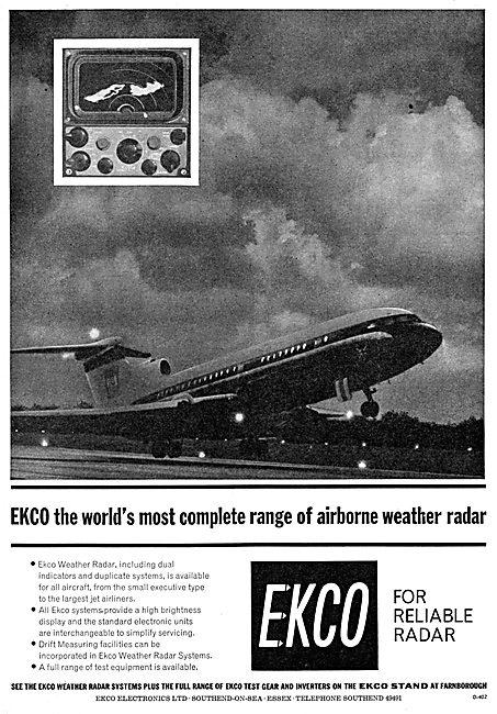 Ekco Airborne Weather Radar Systems