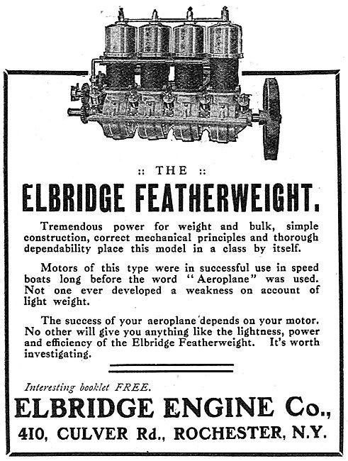 Elbridge Featherweight Aero Engine - Culver Rd, Rochester. N.Y.